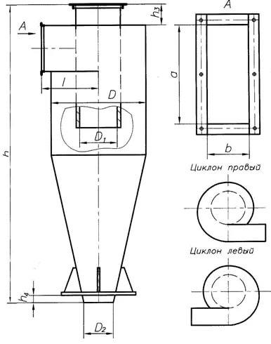 Циклоны СЦН-40